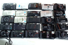 Lot of 36 Cameras - Nikon Canon olympus stylus Point and Shoot 35mm film