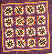 Kaleidoscope Paper Piecing 10 All New Dynamic Quilt Design Quilting Pattern Book