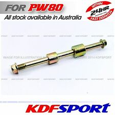 KDF PW80 PY80 REAR BACK WHEEL AXLE NUT COLLAR SPACER FOR YAMAHA 80 PW PY BIKE