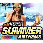 Various Artists - 100% Summer Anthems (3xCD)