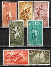 Ifni Spain Sport stamps 1960 MLH