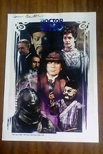 Doctor Who Tom Baker Louise Jameson Signed Signed A4 Picture