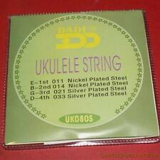 Steel ukulele strings set of 4 suitable for ukelele cigar box guitar - UK SELLER