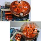 12V Computer CPU Cooler System Cooling Fan+Heatsink Large Size for AMD Intel CPU
