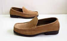 NEW! Ladies NEXT Brown Suede Slip On Loafers/Shoes Size 4 rrp £34.99