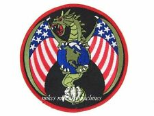 USAF Black Ops Area 51 Spy Satellite Military NRO L-19 Dragon Titan IV Patch New