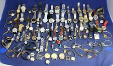 (100) Vintage to Modern Mens & Ladies Watch Lot #6 - Steampunk - Crafts - Resale