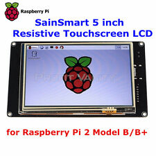 "SainSmart 5"" TFT LCD 800*480 HDMI Touch Screen Display for Raspberry Pi IT Ship"