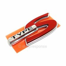 OEM Honda TYPE S Emblem Badge Rear For Acura CL RSX TL 75731-S3M-A10 Genuine