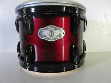"Pearl Vision VX Rack Tom - 10 X 8"" - Red Wine w/ Black Hardware - Birch Shell"