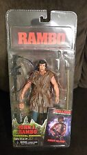 RAMBO SYLVESTER STALLONE MOVIE ACTION FIGURE NECA FIRST BLOOD SURVIVAL VERSION