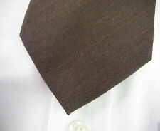 New! BROOKS BROTHERS Brown Wool Silk Neck Tie ~ XL ~  Extra Long ~ NWT $79.50