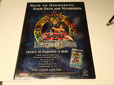 Yu-Gi-Oh CCG Legacy of Darkness High Quality Promo Poster!! Upper Deck