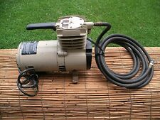 VINTAGE Montgomery Ward Air Power System Air Compressor , paint sprayer ~ WORKS