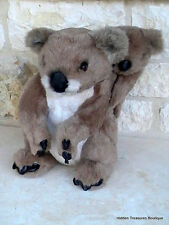 Avanti 1986 Applause Jockline Italy Koala Bear Mama & Baby Plush Stuffed Animal