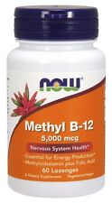 Now Foods Methyl B12, 5000 mcg, 60 Lozenges