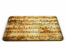 Music Notes Computer PC Mousemat - Brand New
