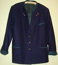 27) superbe femmes costumes Jacker laine Joppe Loden taille de la société ursl costumes