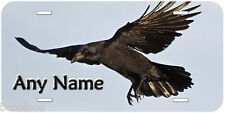 Black Crow Novelty Aluminum Car Auto License Plate P01