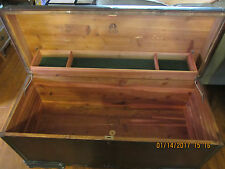 Vintage LANE Waterfall Cedar Chest, Trunk, Box, 1940s - 1950s, No Lock