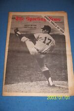 1969 Sporting News DETROIT Tigers DENNY McLAIN Man of The Year No Label  FREE/SH