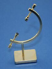 Medium Brass Caliper Display Stand For Collectibles Souvenirs & Meteorites