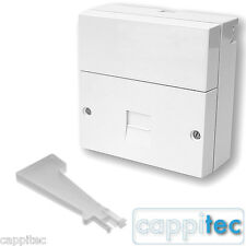 2016 BT TELEPHONE MASTER SOCKET PRESSAC NTE5A MAIN CONNECTION BOX WITH IDC TOOL