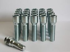 M14 X 1.5 55MM LONG TUNER SLIMLINE ALLOY WHEEL BOLTS FIT VW GOLF MK3 GOLF GTI