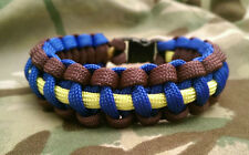 F (Spinx) Parachute Battery Royal Horse Artillery Paracord 550 Bracelet