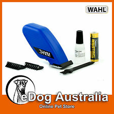 Wahl Pocket Pro Dog Cat Pet Trimmer Clipper Rotary Motor Grooming Kit