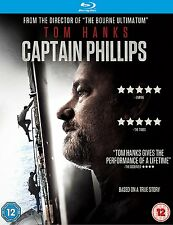Captain Phillips Blu Ray RENTAL EDITION * MASTERED IN 4K * NEW & SEALED