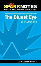 Spark Notes The Bluest Eye by Morrison, Toni, SparkNotes Editors, Morrison, Ton