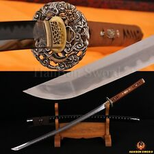 TOP QUALITY TRADITION HANDMADE JAPANESE SAMURAI DRAGON SWORD KATANA CAN CUT TREE