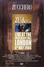 "ZUCCHERO ""ZU & CO-LIVE AT THE ROYAL ALBERT HALL""DVD NEU"