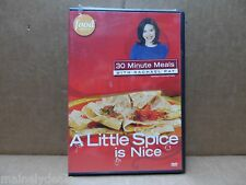 RACHAEL RAY: A LITTLE SPICE IS NICE DVD 2007 USED GOOD