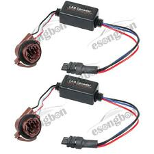 2) LED Decoder 3157 4157 Error Free Adapter Anti Hyper Flashing Canbus For Chevy