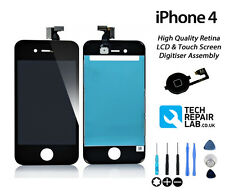 NEW Replacement LCD & Digitiser Touch Screen Assembly Repair FOR iPhone 4 BLACK