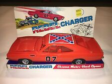 Processed Plastic 1969 Dodge Rebel Charger #9280 in Original Box General Lee