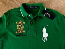 Polo Ralph Lauren Polo Summer Classic Mesh Shirt XXL Green w/ Big Pony $98 NWT