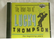 LUCKY THOMPSON Beginning Years 1945-1947 Charles Mingus Shadow Wilson SEALED CD