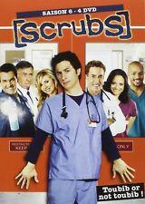 30581// SCRUBS SAISON 6 COFFRET 4 DVD NEUF SOUS BLISTER