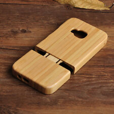 New Natural Wood Wooden Case Bamboo Phone Back Shell Cover Cases For HTC One M9