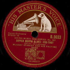 MUGGSY SPANIER & HIS RAGTIME BAND Dipper Mouth Blues/Big butter and...78rpm X657