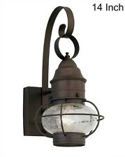 Outdoor Wall Lantern Cape Cod Onion Rustic Sconce Porch Light Exterior Lighting