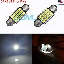 JDM ASTAR 6418 C5W Error Free 27 SMD Map Dome License Plate LED White Light Bulb