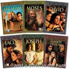 Bible Stories: Complete Christian Film Collection 6 Movies Box / DVD Set(s) NEW!