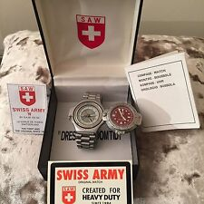 Swiss Army Compass Watch - S A W