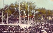 TRAPESE PERFORMING, DOMINION PARK, MONTREAL - Quebec Canada