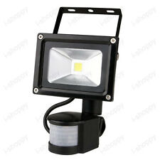 20W LED Flood Light Detector PIR Motion Sensor Security Exterior Wall Lamp Gate