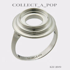 Authentic Kameleon Sterling Silver Hello Darling Ring Size 9 KR020#9